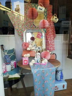 Mothers Day Window Display