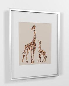 Nursery Wall Decor Giraffe