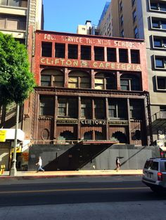 Clifton's Cafeteria - Downtown Los Angeles