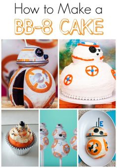 So, you want to make a BB-8 cake? I've rounded up some ideas for you, from easy to a little more difficult. Two even have video tutorials!