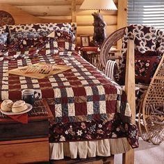 Simply sewn, strip-piecing brings this cozy bed-size quilt together quickly. Great quilt for homespuns and flannels Free pattern from All People Quilt Bed Quilt Patterns, Blanket Patterns, All People Quilt, Big Block Quilts, Quilt Blocks, Small Quilts, Quilt Bedding, Bed Quilts, Girls Quilts