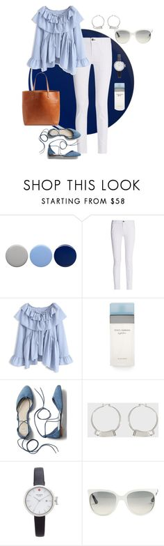"""""""Untitled #95"""" by tammy-stacey ❤ liked on Polyvore featuring Burberry, rag & bone, Chicwish, Dolce&Gabbana, Gap, Kate Spade, Ray-Ban and Madewell"""