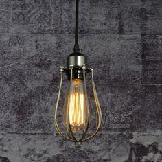 Industrial Vintage Pendant Light Lamp Edison Bulb Pendant Lamp Industrial Vintage Lighting