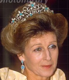 Tiara Mania: Ogilvy Tiara worn by Princess Alexandra of Kent