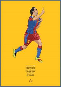 Barcelona's mercurial midfielder Xavi summed up.