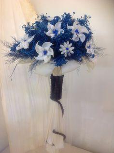 También en la gama de azules y caracola blanca.