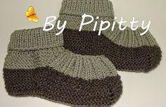Os sapatinhos para dormir são bem vindos no inverno. Alguns modelinhos simples podem ser feitos com facilidade. Todas as receitas são tama...