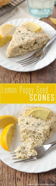 4 Points About Vintage And Standard Elizabethan Cooking Recipes! These Light, Flaky And Citrus Filled Lemon Poppy Seed Scones Are A Cinch To Make And Are The Perfect Breakfast For A Dull January Morning Brunch Recipes, Breakfast Recipes, Dessert Recipes, Breakfast Scones, Morning Breakfast, Lemon Poppy Seed Scones, Lemon Poppyseed Scones Recipe, Lemon Scones, Savory Scones