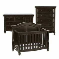Bedford Monterey 3-pc. Baby Furniture Set - Chocolate - JCPenney