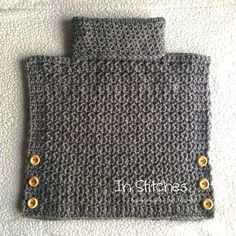 This amazing little poncho style pullover can be custom… Crochet Cowl Pullover! This amazing little poncho style pullover can be custom… Diy Tricot Crochet, Love Crochet, Filet Crochet, Crochet Scarves, Crochet For Kids, Beautiful Crochet, Crochet Shawl, Crochet Crafts, Crochet Clothes