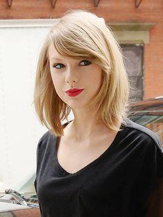 Taylor Swift - Wavy Lob.                                                                                                                                                                                 More
