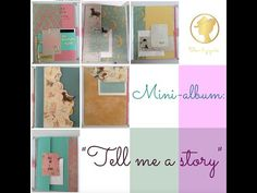 Mini: Tell me a story (parte II) Scrapbook Albums, Scrapbooking, Bedtime Stories, Tell Me, Blog, Gallery Wall, Frame, Diy, Mini Albums