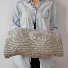 Handknitted blanket from Manufaktura Babci Władzi   See my DaWanda Shop  http://pl.dawanda.com/shop/manufakturababciwladzi  #knitting #blanket #wool #grey #home