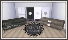 Sims 4 CC's - The Best: TS2 to TS4 - Jope Cabinets by Dinha