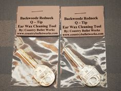 Backwoodz Redneck Q Tip Lot of 2 Gag Gift by CountryBulletWorks Christmas Pranks, Redneck Christmas, Gag Gifts Christmas, Santa Gifts, Christmas Humor, Christmas Fun, Christmas Ornaments, Silly Gifts, Joke Gifts