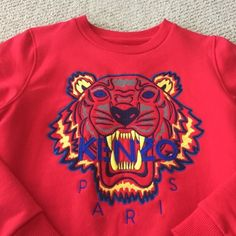 Kenzo Sweater 100% authentic. Size 16A which is the same as M. Kenzo Sweaters