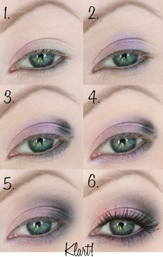 make-up-step-by-step green-eyes