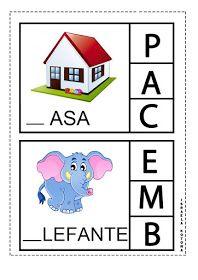 Educação infantil facil: JOGO DA LETRA INICIAL First Grade, Professor, Homeschool, Games, Logos, Kids, Quilting, Activities For Autistic Children, Preschool Literacy Activities