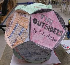 The Outsiders Bloom Ball Book Report Projects, Book Projects, School Projects, Middle School Ela, Middle School English, 8th Grade English, 7th Grade Ela, Literature Circles, Ap Literature
