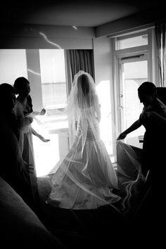 The Fontainebleau   Photography: Alain Martinez   #CarrieZack #weddings…