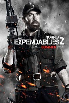 The Expendables 2 : Chuck Norris