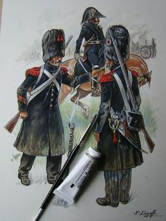 French Imperial Guard Foot Artillery
