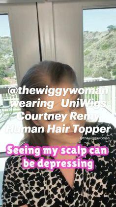 Hair Toppers, Remy Human Hair, Hair Loss, How To Wear, Losing Hair, Hair Falling Out, Fall Hair