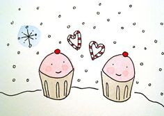Happy Winter Cupcakes | Flickr - Photo Sharing!