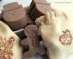 Jabon de Glicerina de Chocolate