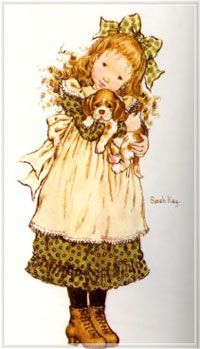 my childhood memories. Sarah Key, Sara Key Imagenes, Cute Images, Cute Pictures, Holly Hobbie, Cute Illustration, Vintage Pictures, Illustrations, Vintage Children