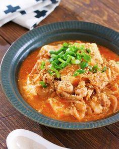 煮るだけ5分♪『豚バラ豆腐ともやしの韓国風ごま味噌スープ』 by Yuu | レシピサイト「Nadia | ナディア」プロの料理を無料で検索