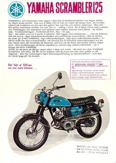 YAMAHA Brochure AS2 AS2C 1969 1970 1971 SWEDISH Sales Catalog Catalogue REPRO | eBay