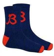 "Chicago Bears Bears Halas ""B"" Navy Socks"