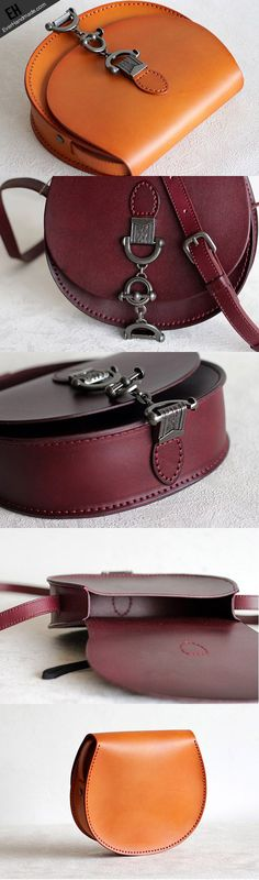 Handmade Leather vintage women leather shoulder bag crossbody