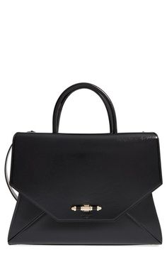 Givenchy 'Medium Obsedia' Patent Leather Satchel available at #Nordstrom