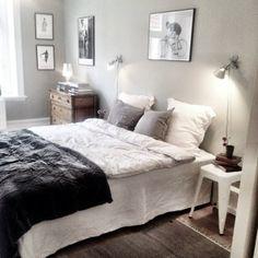 Bedroom harmony. (via Studio cuvier)