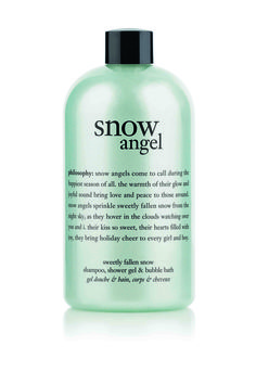 philosophy snow angel sweetly fallen shampoo, shower gel and bubble bath 480ml - $30.00