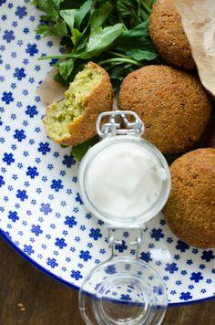Falafels et sauce au tahin