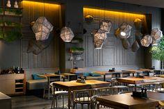 New Pan-Asian restaurant designed by YOD design studio.