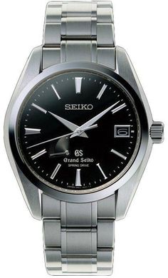 Grand Seiko Watch Spring Drive #bezel-fixed #bracelet-strap-steel #brand-grand-seiko #case-material-steel #case-width-41mm #clasp-type-hidden-folding-clasp #date-yes #delivery-timescale-call-us #dial-colour-black #gender-mens #luxury #movement-spring-drive #official-stockist-for-grand-seiko-watches #packaging-grand-seiko-watch-packaging #power-reserve-yes #subcat-spring-drive #supplier-model-no-sbga003j #warranty-grand-seiko-official-2-year-guarantee #water-resistant-100m