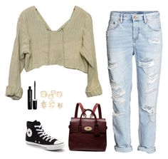 """Untitled #20"" by inspired-sets ❤ liked on Polyvore featuring Converse, Mulberry, Marc Jacobs and Charlotte Russe"