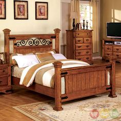 With Its Metal And Wood Design, The Sonoma Bedroom Set Will Bring In · Furniture  ShowroomBed FurniturePoster ...