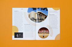 춘천놀이문화 매거진 POT | THANKSBOOKS STUDIO Magazine Layout Design, Book Design Layout, Print Layout, Album Design, Page Design, Graphic Design Layouts, Brochure Layout, Brochure Design, Editorial Layout