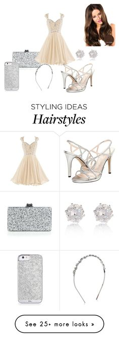 """Untitled #186"" by daniellec94 on Polyvore featuring Edie Parker, Caparros and River Island"