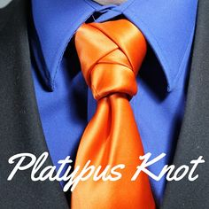 How To Tie a Tie.  Platypus Knot video tutorial.  100 ways to tie a tie