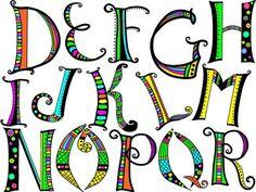 Bildergebnis für doodle font