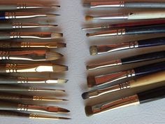 Old Brushes and New Brushes