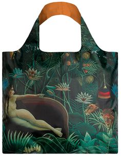 'The Dream' by Rousseau, Museum Collection, Shopper/Tote bag - LOQI #shopper #reusable #grocery bag - #boodschappentas #abodeeloqibags