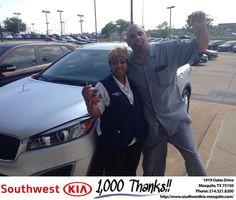 https://flic.kr/p/Mt1z2A | #HappyBirthday Janie from Jerry Tonubbee at Southwest Kia Mesquite! | www.deliverymaxx.com/DealerReviews.aspx?DealerCode=VNDX