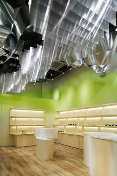 ♂ Commercial design retail space interior Dream Dairy Farm, Chiba Japan by Moriyuki Ochiai Architects